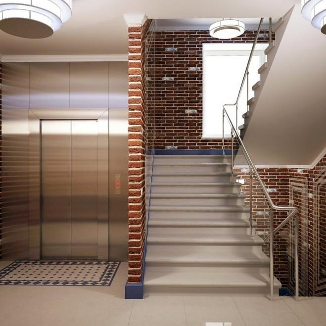 Жилой комплекс Голландия примеры отделки квартир и холлов
